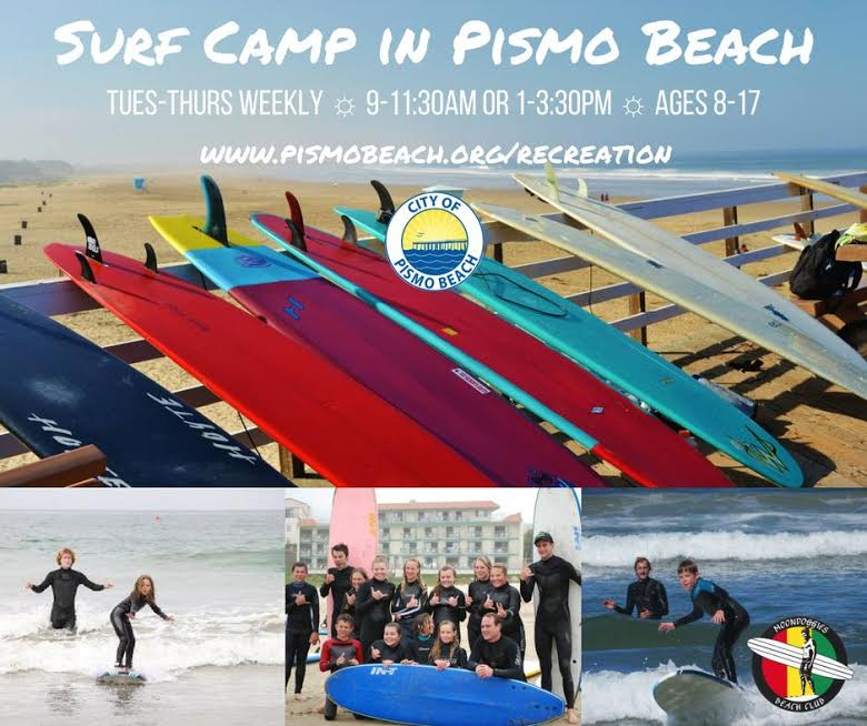 Surf Camp in Pismo Beach